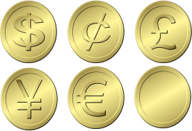 gold coins sample