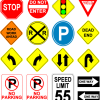Free Clipart: Road Signs (CC-BY)